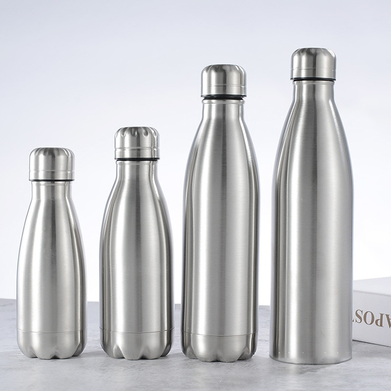 Vacuum Gym Sports Cycle Stainless Steel Water Bottle Kettle Sports Bottles